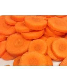 Zanahoria cortada en Rodajas 2-4 Mm 5kg